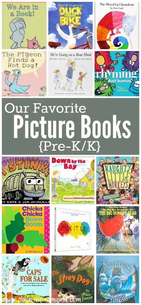 read picture books favorite picture books for pre k k