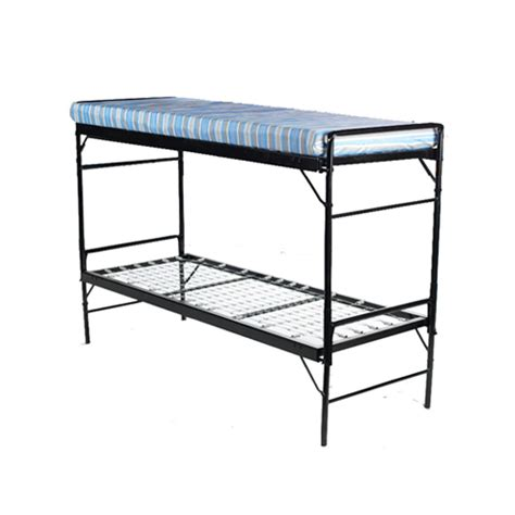 foldable bunk beds army folding bunk bed c and dorm medmattress com