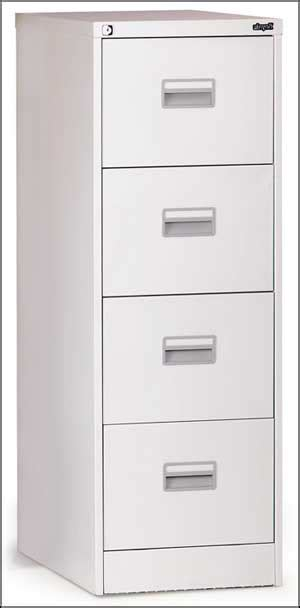 4 drawer metal file cabinet office furniture