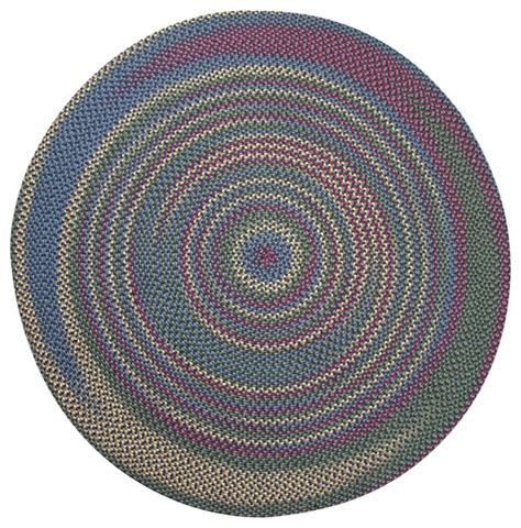 jefferson braided rugs jefferson navy indoor outdoor braided rug 6 contemporary outdoor rugs by