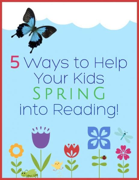 8 Ways To Encourage Your Children To Read by 5 Ways To Help Your Into Reading Bonbon