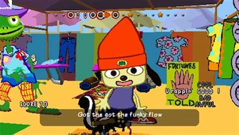parappa the rapper bathroom rap 20 years of the playstation sony s best games by year