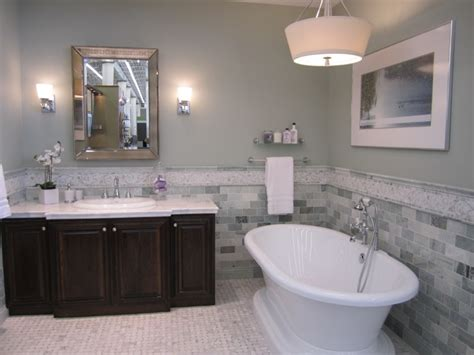 green marble transitional bathroom sherwin williams