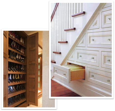Shoe Rack For Stairs by Staircase Drawers And Shoe Storage Cabinet Spectrum Organizing
