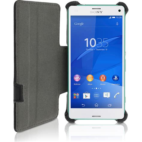 Casing Cover Sarung Pda Book Standing Xperia Z 2 Z2 pu leather flip for sony xperia z3 compact d5803 stand book folio cover ebay