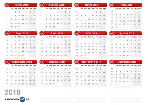 calendario aeela calendario 2018