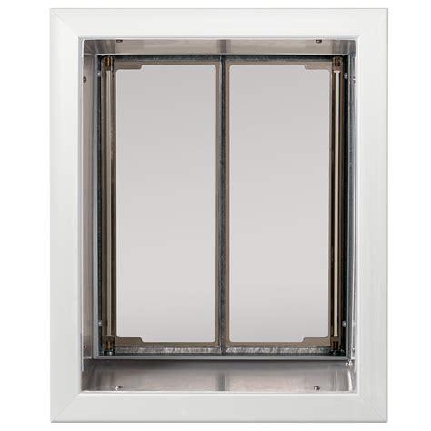 Petco Doors by Plexidor X Large Wall Mount Pet Door In White Petco Store