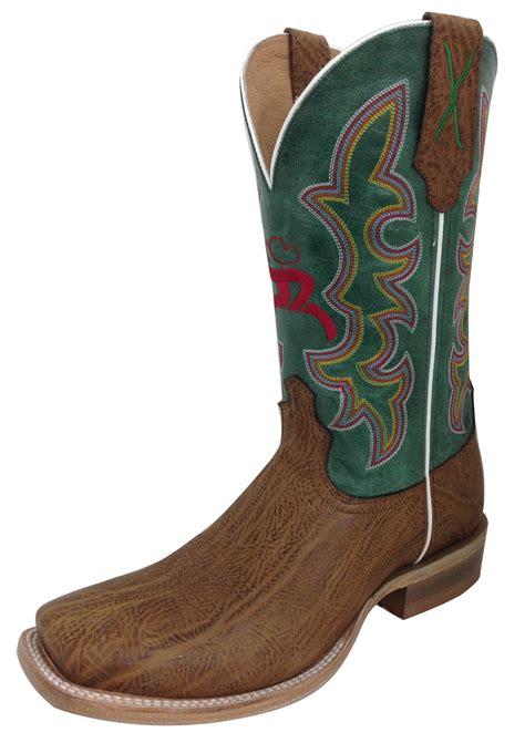hooey boots pungo ridge twisted x s hooey nws toe boots suntan