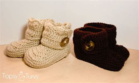 free button boats pattern show me your booties 10 free crochet patterns