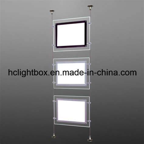 hanging light box display china hanging acrylic display light box photos