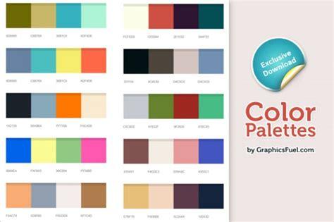 good color xcellent color palettes psd psd file free download