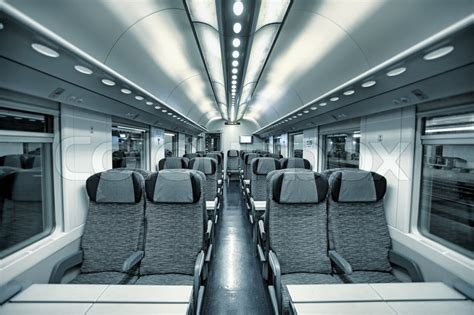 Italian Home Plans by Interior View Of Modern Intercity High Speed Train Coach