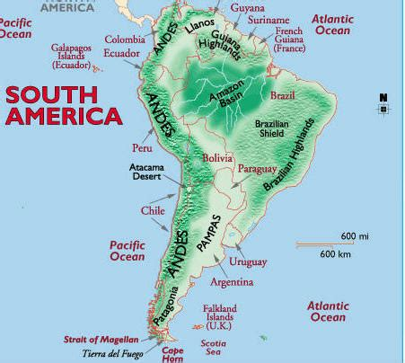 5 themes of geography south america lecture topics