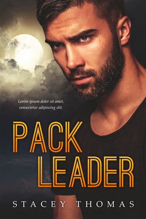 pack leader pre made book cover for sale