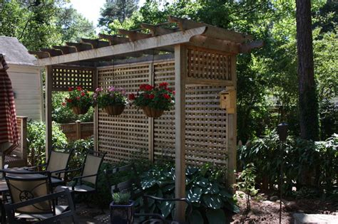 pergola screen ideas privacy pergola