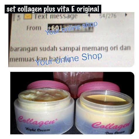 Collagen Di Malaysia promosi borong set collagen plus vita e serendah rm 7 set