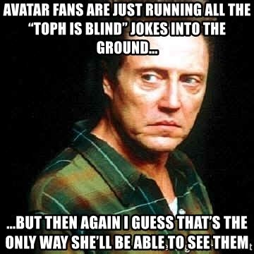 running into the a blind ã s record setting run across america books avatar fans are just running all the toph is blind jokes
