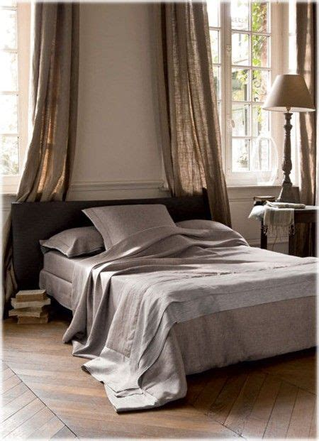 bed drapery 98 best images about linen curtains on pinterest