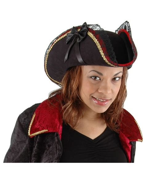 buccaneer pirate hat womens pirate hat