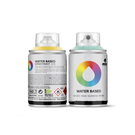 spray painting supplies mtn water based 100 100ml 6 pack spray paint