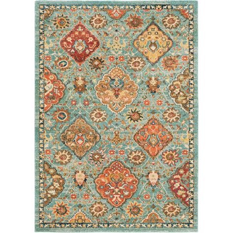 2 x 3 accent rugs artistic weavers macael seafoam 2 ft x 3 ft accent rug s00151068473 the home depot