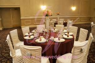 Pink red and white wedding decoration joyce wedding services