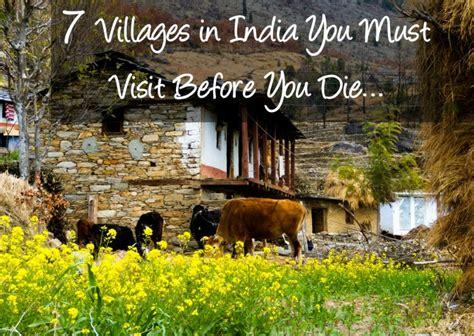 beautiful villages  india    visit