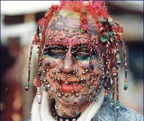 iwak kutok face tattoo