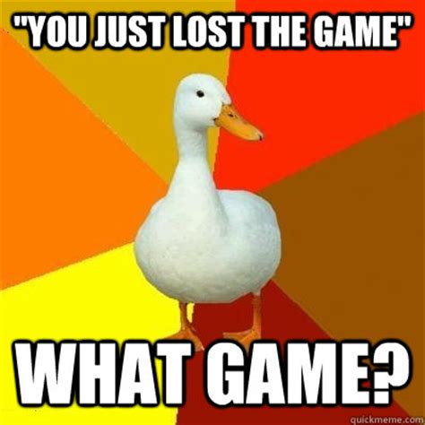 lost  game  game tech impaired duck