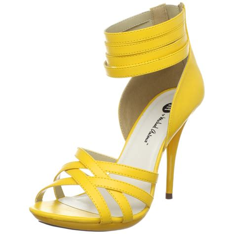 yellow shoes modern yellow bridal shoes wedding shoes
