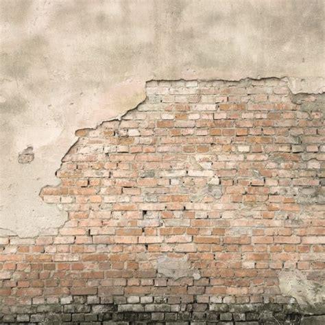 fototapete mauerwerk witte bakstenen muur cre 235 er een industri 235 le sfeer my