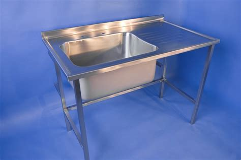 free standing stainless steel sink stainless steel free standing sinks dsm stainless steel