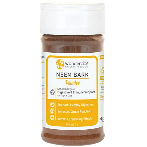 Bark Detox by Neem Bark Powder For Digestive Immune Support For Dogs