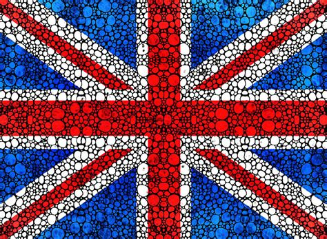 Uk Home Decor Blogs by British Flag Britain England Stone Rock D Art Painting