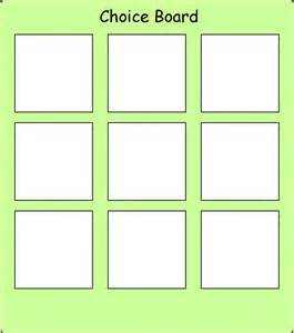 choice board template choice 9 board pecs picture exchange communication
