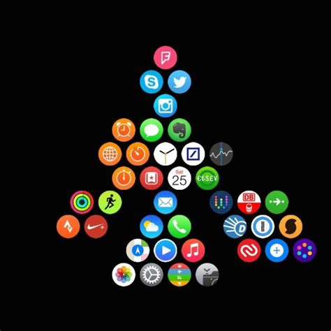 Apple Watch Layout | apple watch users show off their creativity with custom