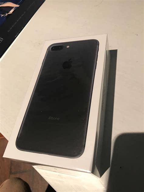 apple iphone 7 plus 128gb black at t smartphone sealed protect my phones