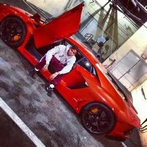 Chris Brown Lamborghini Chris Brown Net Worth Salary House Car
