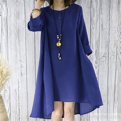 N Flowy navy flowy summer dress plus size sundresses blouse top