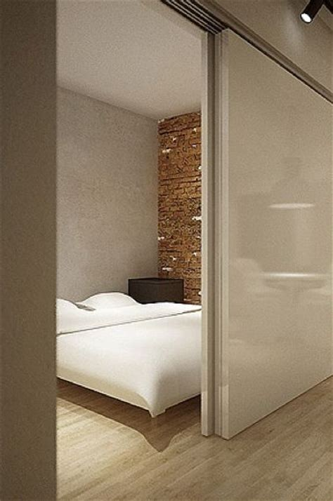 Sliding Doors For Bedroom by Sliding Door Separating The Master Bedroom From The Living
