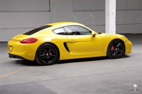 yellow for sale wp0ab2a81ek193298 2014 porsche cayman s 14 501 ptv