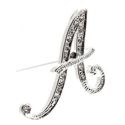 Silver Monogram Letters