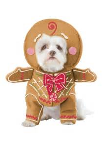 dogs halloween costume gingerbread pup dog costume