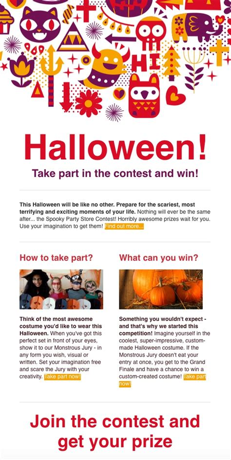 Wickedly Effective Templates For Halloween Getresponse Blog Effective Newsletter Templates