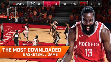 nba live apk free nba live mobile apk free for android v2 1 4