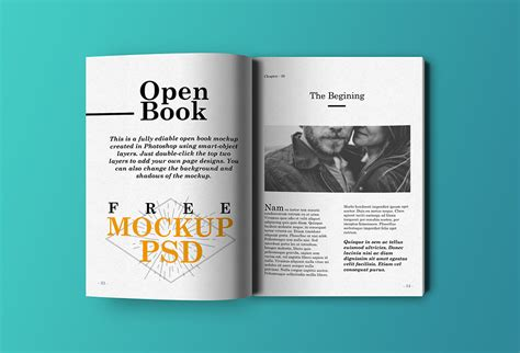 photoshop template open book open book mockup psd graphicsfuel