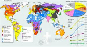 Religion Map Of The World by 301 Moved Permanently