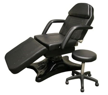 tattoo table hydraulic chair with free blk stool table bed