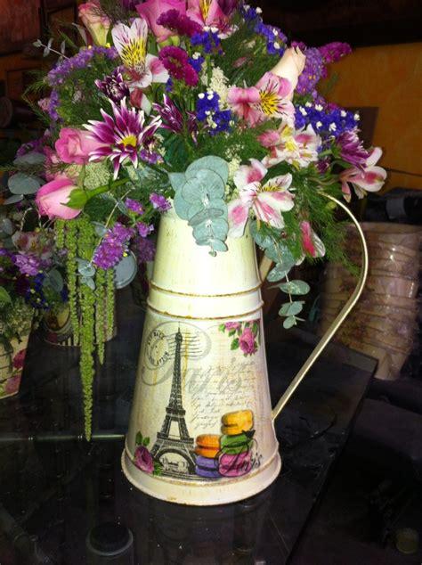 imagenes de jarras vintage centros de mesa floreros regaderas bolsas vintage shaby