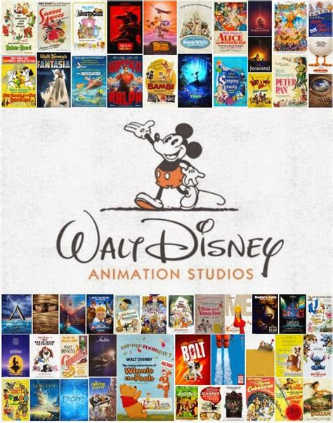image gallery new disney cartoon movies disney avenue all 54 walt disney animation movie posters